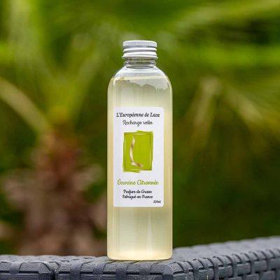 recharge 200 ml pour diffuseur de rotin senteur verveine citronnée