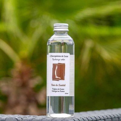 recharge 200 ml pour diffuseur rotin senteur bois de santal