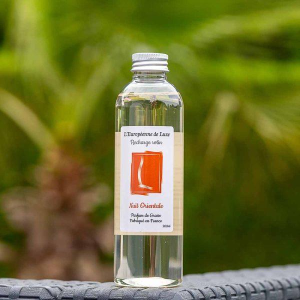 recharge 200 ml pour diffuseur rotin senteur nuit orientale