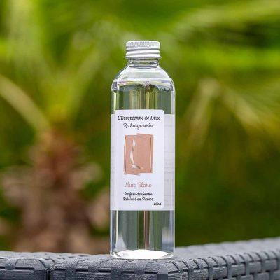 recharge 200 ml pour diffuseur rotin senteur musc blanc