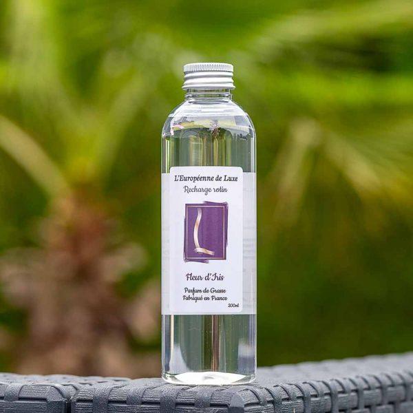 recharge 200 ml pour rotin senteur fleur d'iris